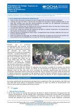 République du Congo - Explosion de Mpila/Brazzaville: Rapport de situation N°6 (21 mars 2012)