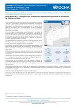 Flash Update N°1 - Colombia: Emergencia por inundaciones, deslizamientos y crecientes en Villavicencio (Meta)