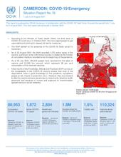 Cameroon: COVID-19 Emergency Situation Report No. 19, July to August 2021
