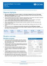 Lake Chad Basin: Crisis Update No.14, 6 April 2017