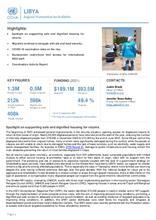 OCHA Libya l Humanitarian Bulletin (August 2021) - النشرة الإنسانية لشهر أغسطس/آب -  [En/Ar]