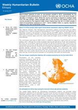 Ethiopia Weekly Humanitarian Bulletin, 9 January 2017