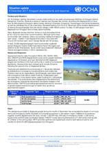 OCHA Situation Update: Khogyani displacements and response