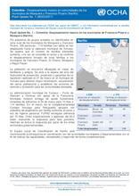 Colombia - Desplazamiento masivo en comunidad de los municipios de Mosquera y Francisco Pizarro (Nariño) - Flash Update No.1 (28/03/2017)