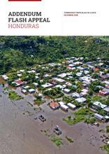 Honduras: Addendum Flash appeal - Tormentas Tropicales Eta & Iota, diciembre 2020