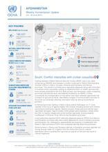 Afghanistan Weekly Humanitarian Update  | 14 – 20 June 2021