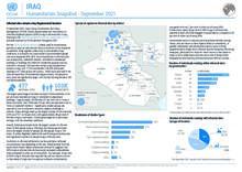 Iraq: Humanitarian Snapshot - September 2021 [EN]