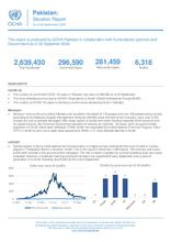 Pakistan: Situation Report, As of 02 September 2020