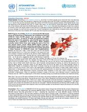 Afghanistan Flash Update | COVID-19 | Strategic Situation Report No. 96 | 06 May 2021