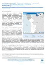 Flash Update No 1 Triple afectación confinamiento, desplazamiento y desastres naturales en Bojayá (Chocó)