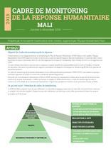 Cadre de Monitoring de la Réponse Humanitaire Mali 2019