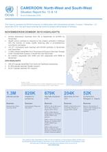 Cameroon: North-West and South-West Crisis Situation Report N13 & 14 as of 31 December 2019