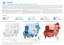 Sudan Humanitarian Response Monitoring Snapshot (January to June 2020)