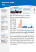 Somalia Humanitarian Bulletin July 2016   Issued on 28 July 2016