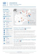 Afghanistan Weekly Humanitarian Update  | 3 February to 9 February 2020