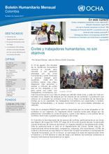 Boletín Humanitario Mensual - Mayo 2017 [CLONED]