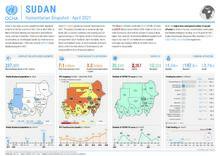 Sudan Humanitarian Snapshot - April 2021