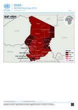 Chad INFORM Risk Index 2019 [EN]