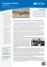 Humanitarian Bulletin Afghanistan | Issue 78 | 1 July – 30 September 2018