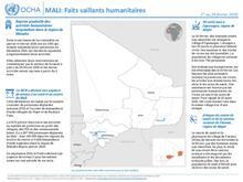 MALI: Faits saillants humanitaires
