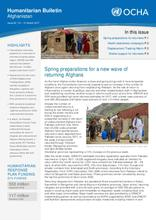 Afghanistan Humanitarian Bulletin Issue 62 (01 - 31 March 2017)