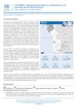 COLOMBIA: Flash Update No. 2 -Desplazamiento masivo y confinamiento en el municipio de Alto Baudó (Chocó)