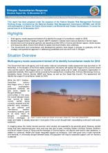 Ethiopia: Humanitarian Response Situation Report No. No. 16 (November 2017)