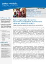 RCA: OCHA Bulletin humanitaire #50 décembre 19 [CLONED]