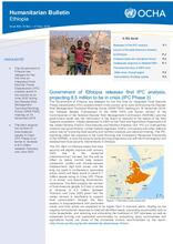 Ethiopia Bi-Weekly Humanitarian Bulletin, 18 November - 01 December 2019
