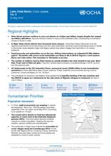 Lake Chad Basin: Crisis Update No.3 - 12 may 2016