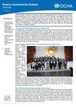 Ethiopia Weekly Humanitarian Bulletin, 21 August 2017