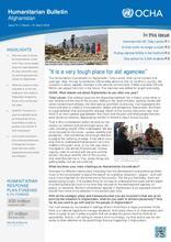OCHA Afghanistan: Humanitarian Bulletin Issue 74 | 1 March – 31 March 2018