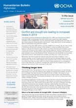 Humanitarian Bulletin Afghanistan | Issue 79 | 1 October – 31 December 2018