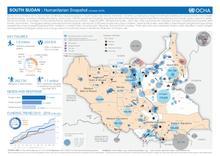 South Sudan: Humanitarian Snapshot (Oct 2016)