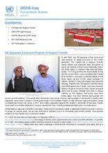 Iraq: Humanitarian Bulletin, April 2021 [EN][کوردی][العربية]