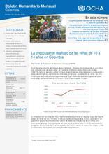 Boletín Humanitario Mensual - Octubre 2016