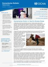 Afghanistan Humanitarian Bulletin Issue 60 | 01 - 31 January 2017