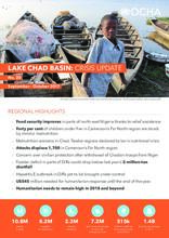 Lake Chad Basin: Crisis Update No. 20 - September - October 2017