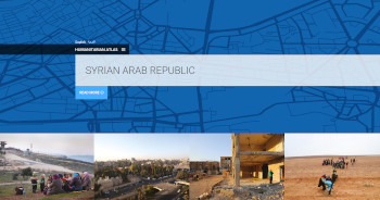 Screenshot of Syrian Arab Republic - Humanitarian Atlas
