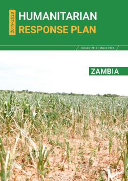 Cover of Zambia Humanitarian Response Plan 2019-2020