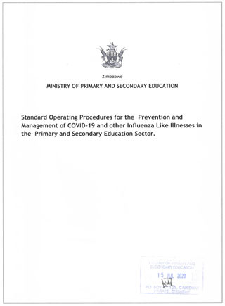 Frontpage of a MOPSE SOP document